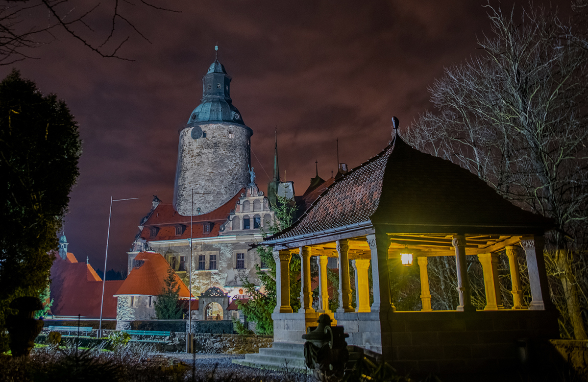 Night tour of Czoch Castle